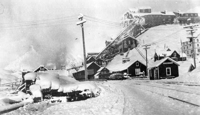 Kennecott in winter