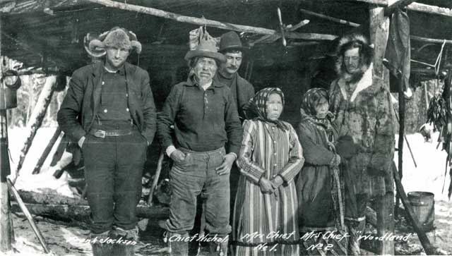 Chief Nicolai & wives