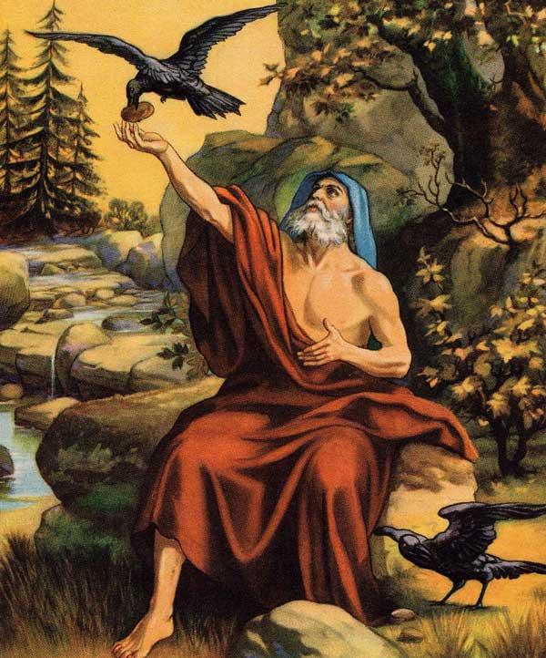 Raven feeding Elijah
