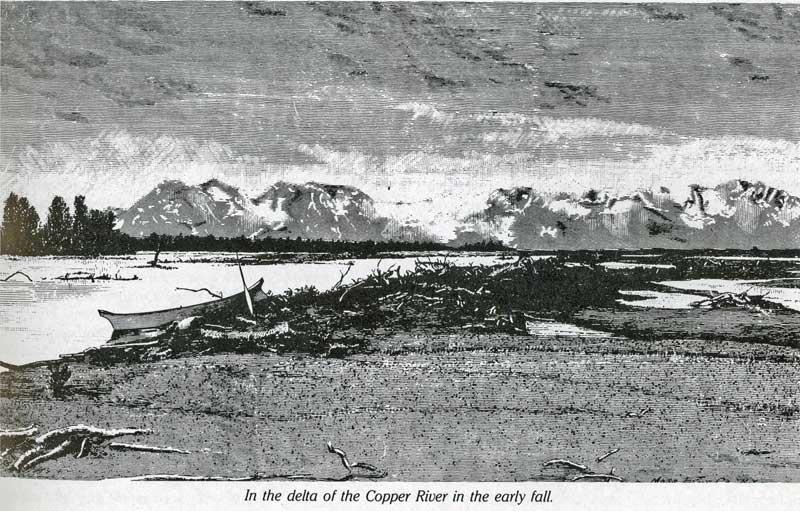 Lt Allen dwg of N. Childs Glacier