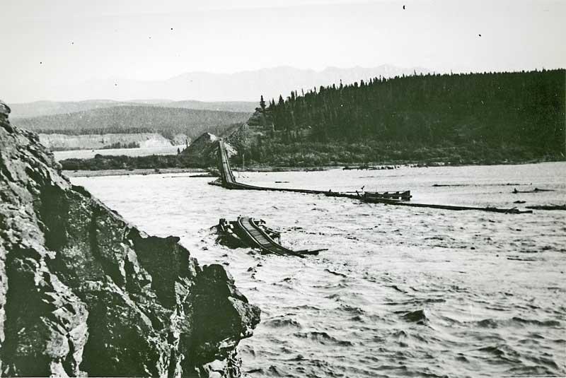 MP 132 bridge out