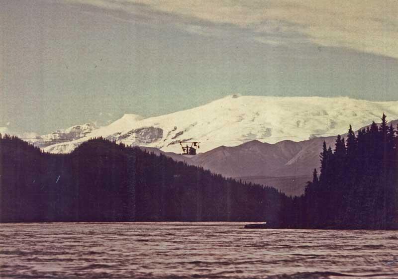 Mt Wrangell-Taral tram