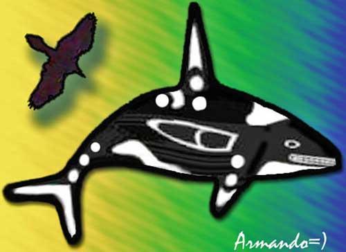 raven & whale