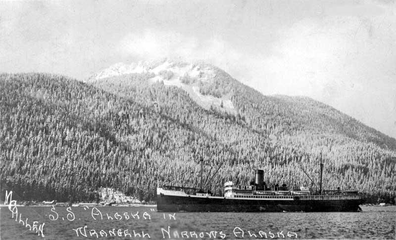 SS. Alaska in Wrangell Narrows
