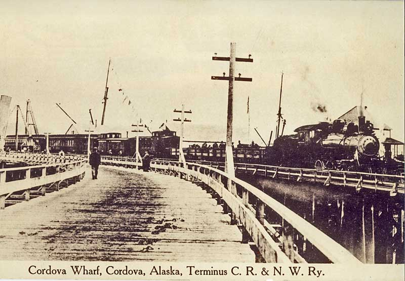 Cordova Wharf Train