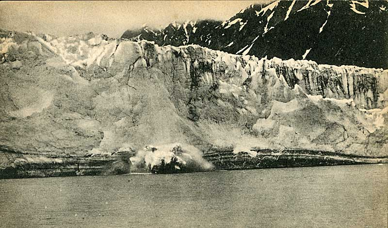 Childs Glacier calving