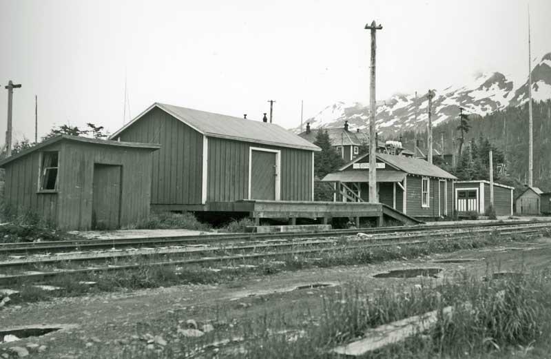 Cordova RR depot