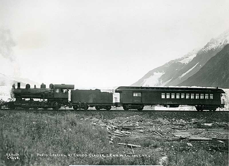 Childs Glacier excursion train