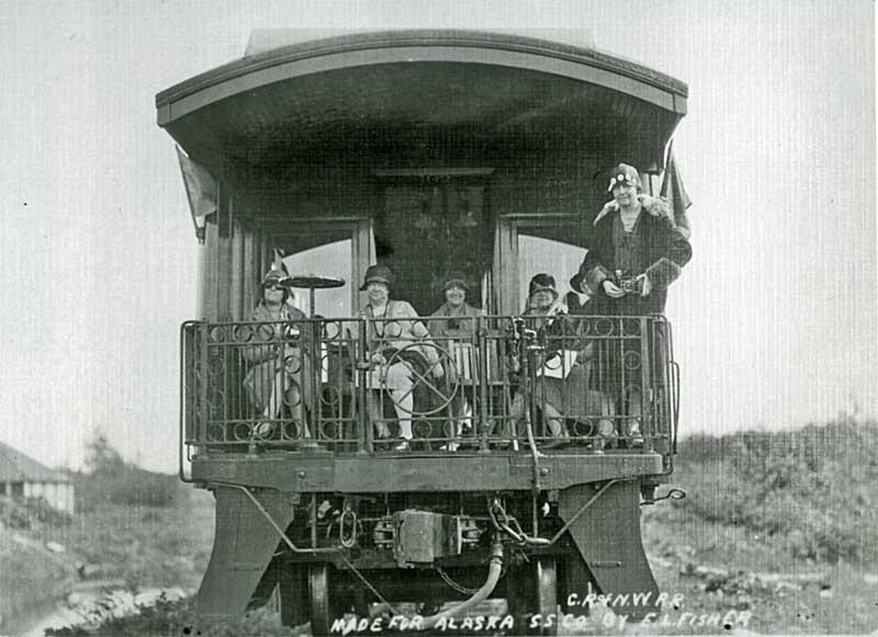 CRNW observation car