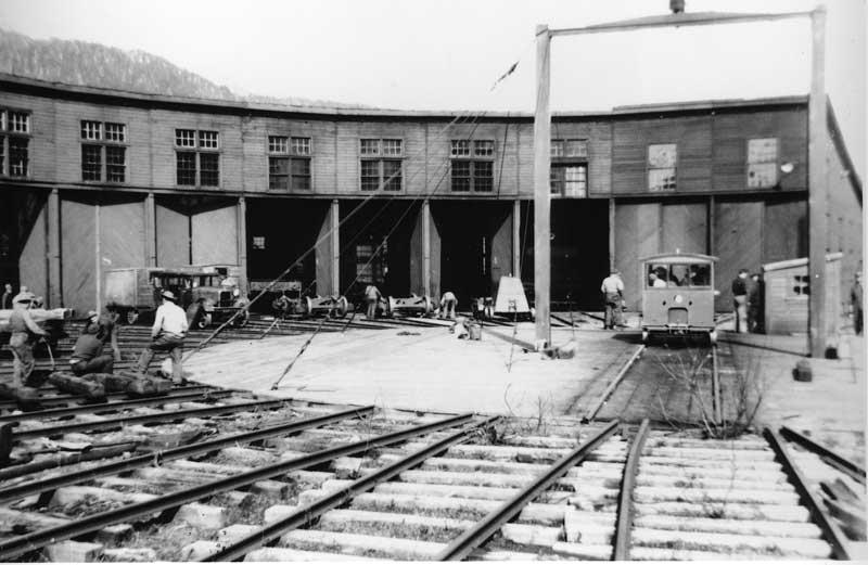 Cordova Roundhouse 1943