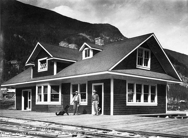 Chitina depot