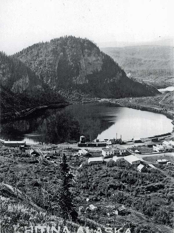 Chitina, view 2, Spirit Rock