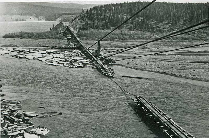 trestle goes out 1939