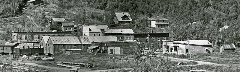 ghost town Chitina 1953