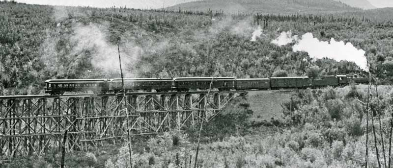 Gilahina trestle July 4th Special