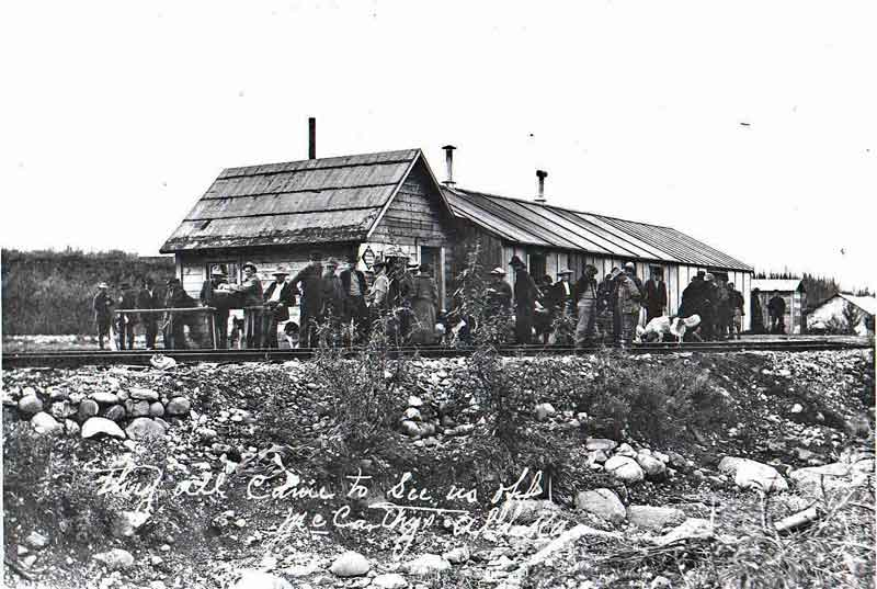old McCarthy depot