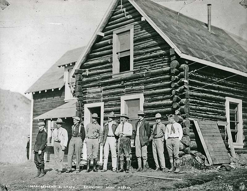 Kennecott engineers-early
