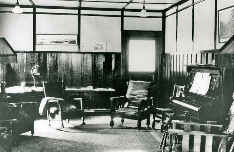 staff house interior