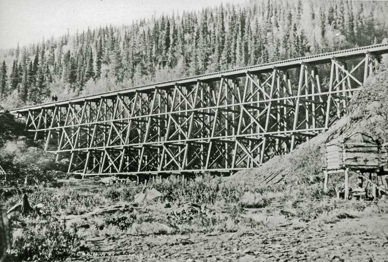 Eskilida Creek trestle