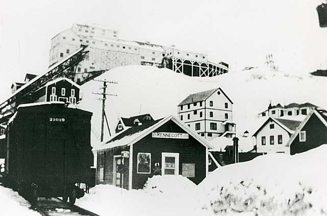 Kennecott depot