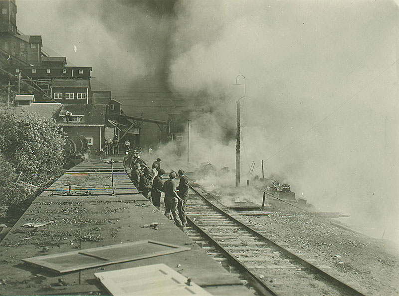 Kennecott power plant fire