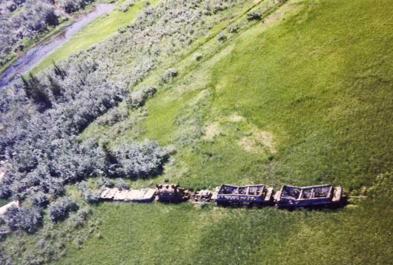 Abandoned #3 on tundra
