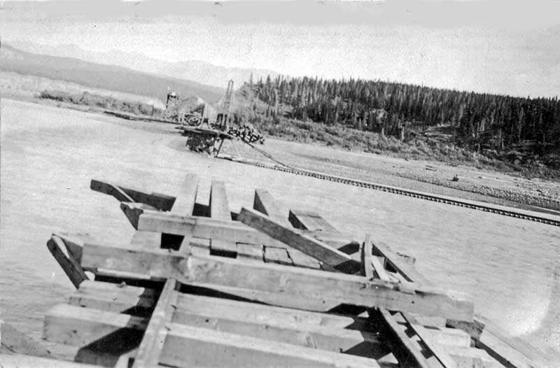 Chitina crossing out