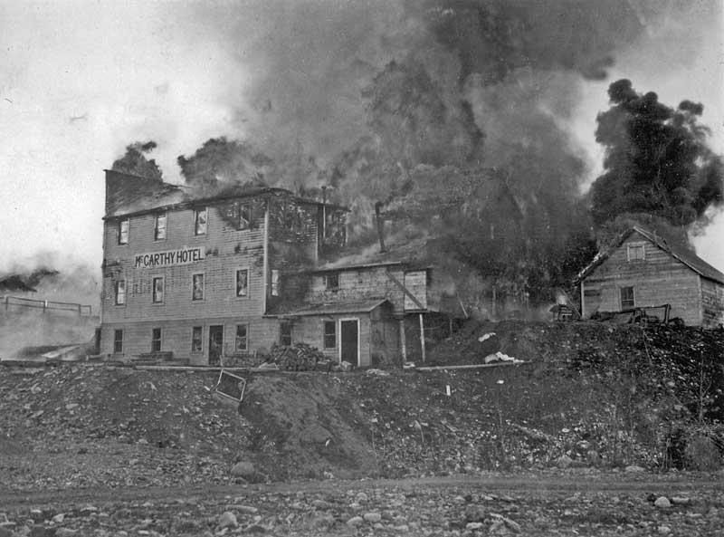 McCarthy Hotel fire