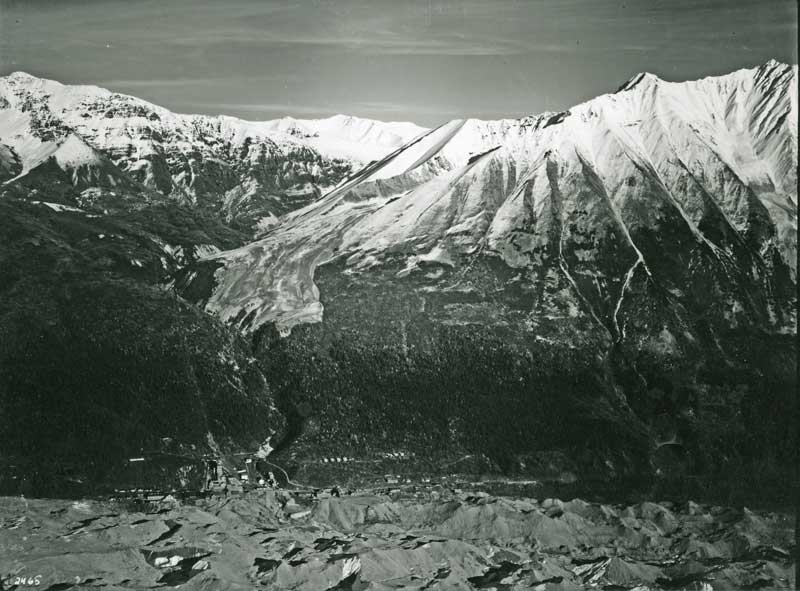 Kennecott aerial