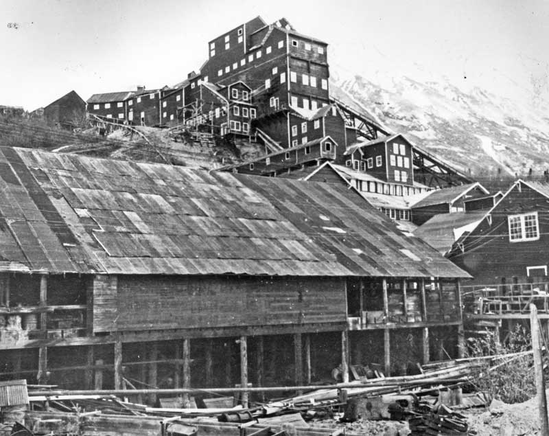 West End of Kennecott Mill