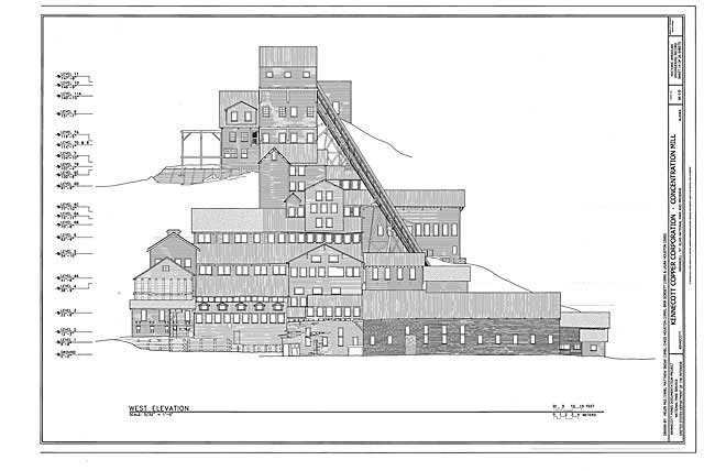 mill front drawing