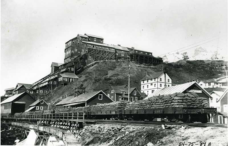Kennecott ore cars