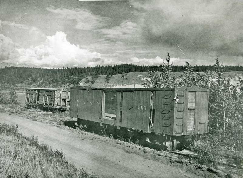 Abandoned Boxcars