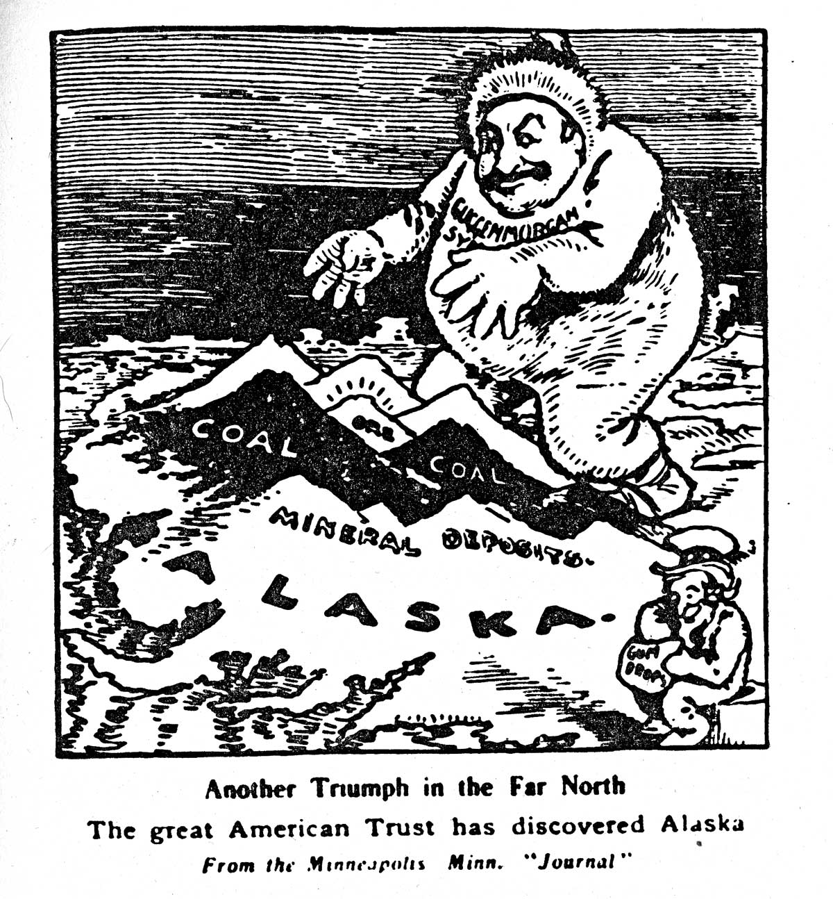 Who were the Guggenheims and what was their involvement in Alaska?