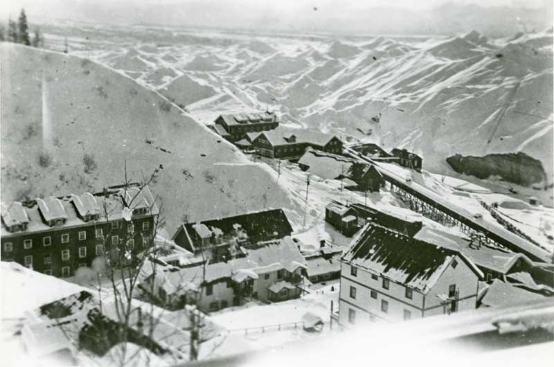 Kennecott in winter 2