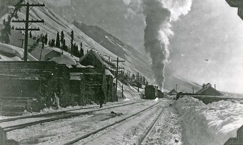 Train Leaves Kennecott