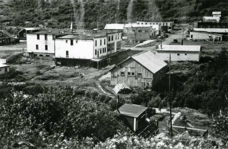 Abandoned Chitina 1939