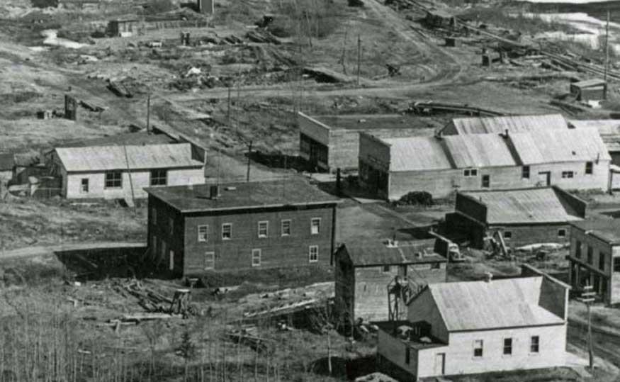 Chitina 1953 view 2