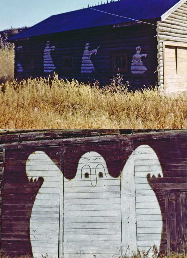 Chitina ghosts