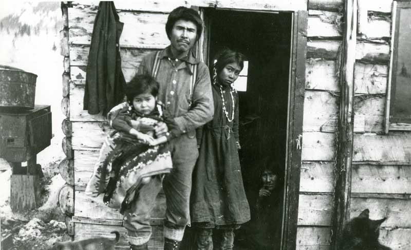 Chitina Indian Family