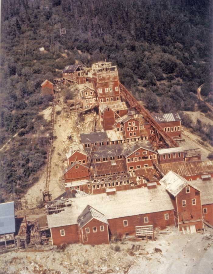 Kennecott mill in 1981