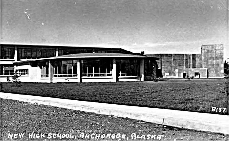 Anchorage High School 1956